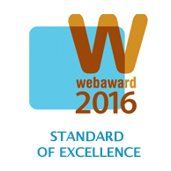 webaward 2016 Standard of Excellence